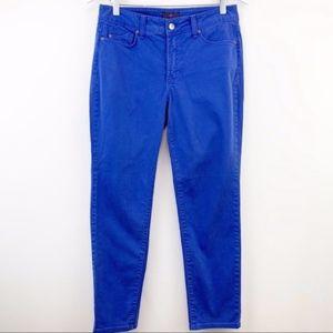 NYDJ👖Bright Blue Ankle Jean
